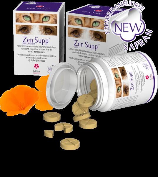 Zen Supp Miloa Rust Hond Kat 60 tabletten