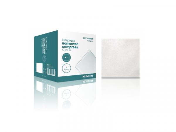 Klinion Gaaskompres steriel 100 stuks