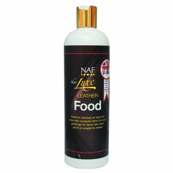 NAF Sheer Luxe Leather Food 500 ml