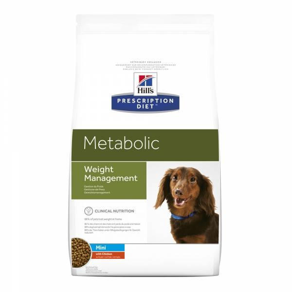 Hill's Prescription Diet Metabolic Mini Weight Management Hondenvoer Kip