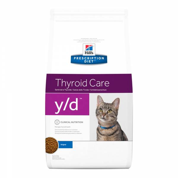 Hill's Prescription Diet YD Thyroid Care Kattenvoer