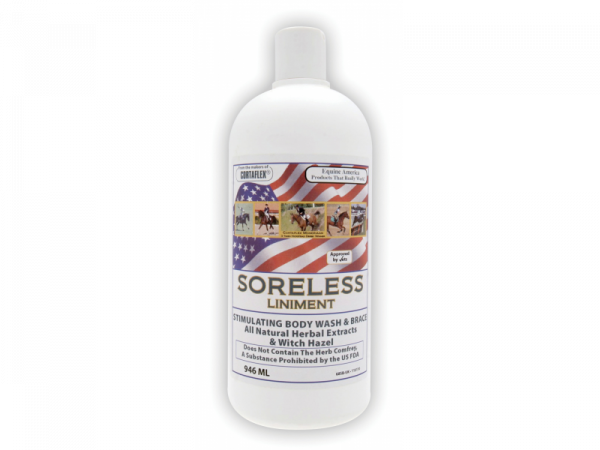 Soreless Liniment Equine America 946 ml
