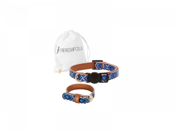 Mr Purrfect Cat & You Halsband Kat Blauw