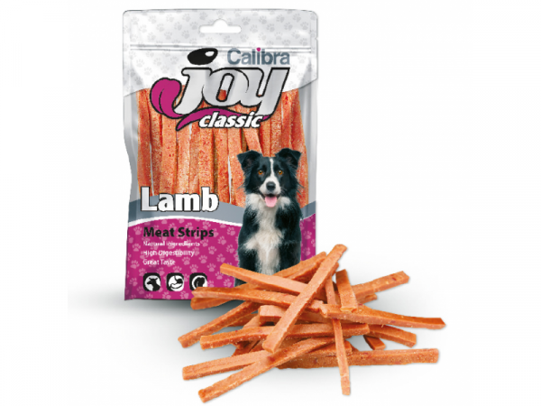 Calibra Joy Dog Lamb Strips 80 gram