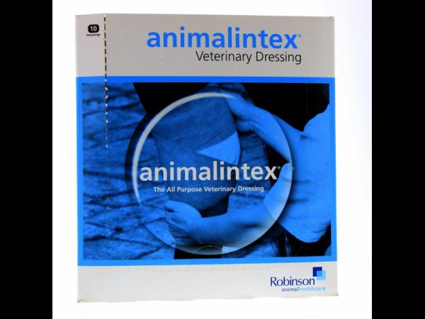 Animalintex verzorgend verband 40 x 20 cm 10 stuks