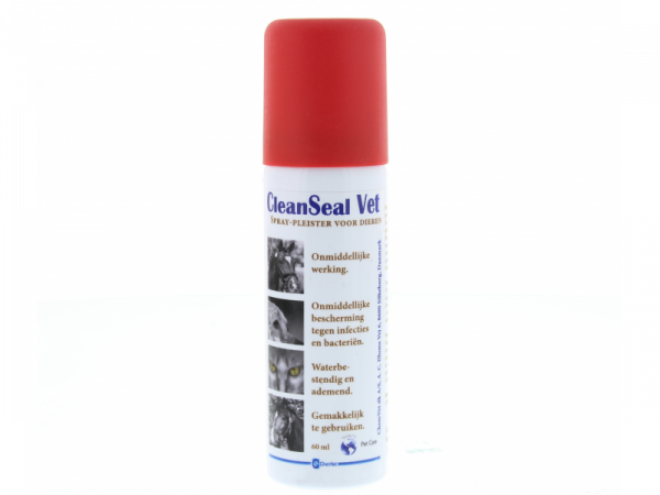 CleanSeal Vet Spray Pleister 60 ml