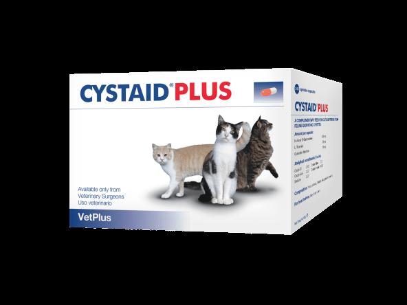 Cystaid Plus Vetplus Kat 240 capsules