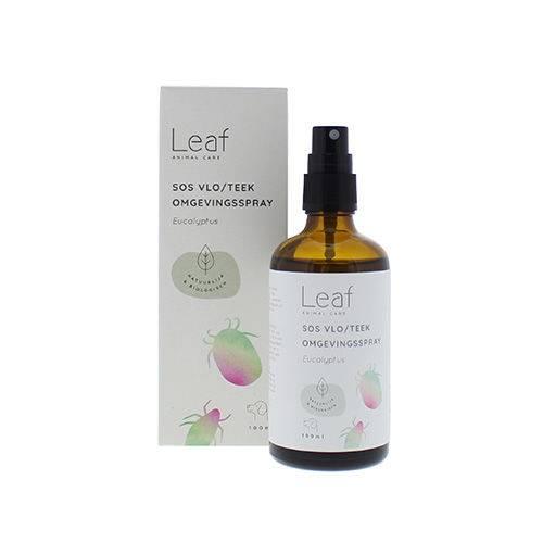 Leaf SOS Vlo/Teek Omgevingsspray Eucalyptus Hond