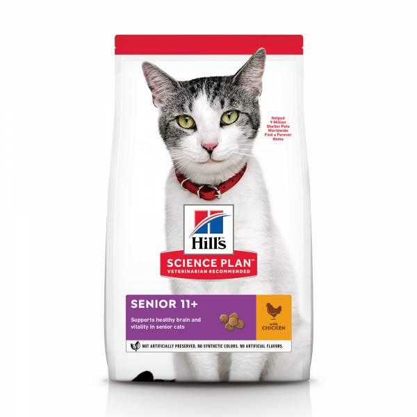 Hill's Science Plan Senior 11+ Kattenvoer Kip