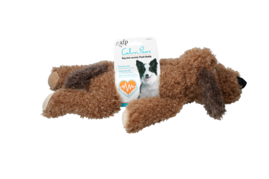 AFP Calm Paws-Dog Anti Anxiety Plush Buddy