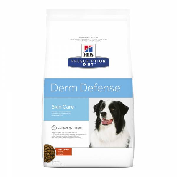 Hill's Prescription Diet Derm Defense Skin Care Hondenvoer Kip