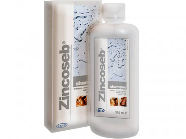 Zincoseb Shampoo Hond Kat 250 ml