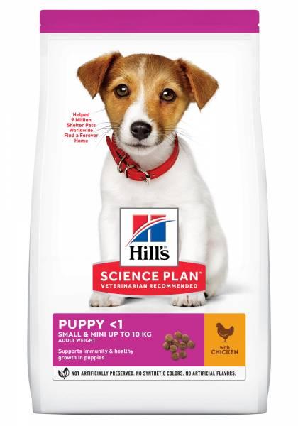 Hill's Science Plan Small & Mini Puppyvoer met Kip