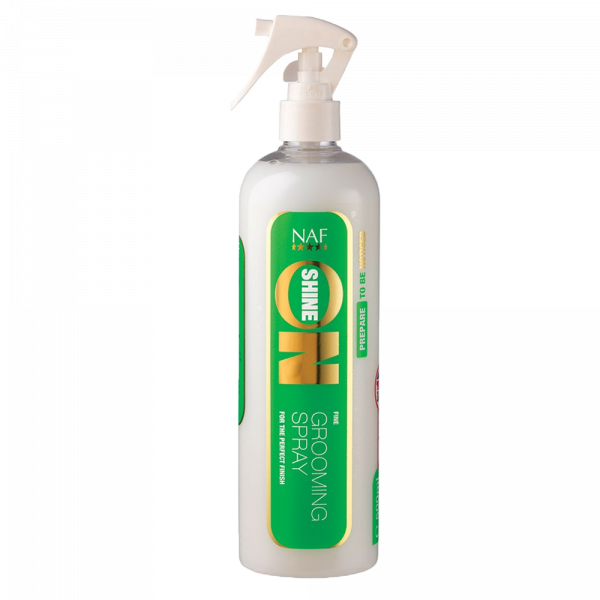 NAF Shine On Grooming Spray Glans Paard 500 ml