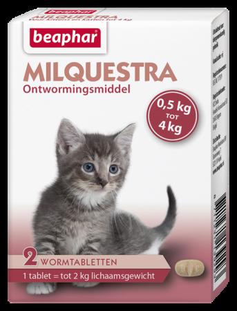 Beaphar Milquestra Ontwormingstabletten Kat