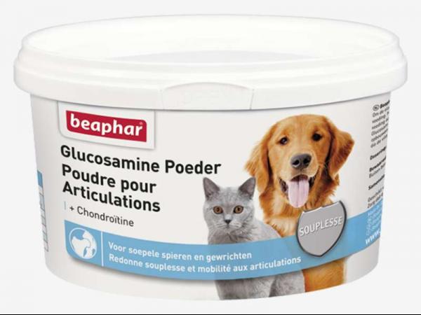 Beaphar Glucosamine Poeder Hond Kat 300 gram