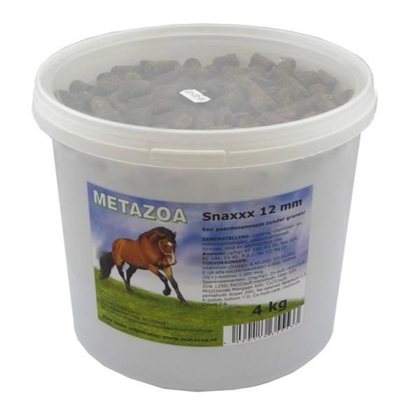 Metazoa Snaxxx Paard 4 kg emmer