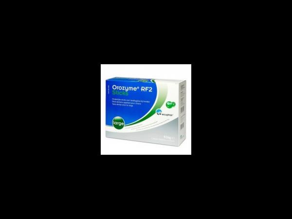 Orozyme RF2 Anti Tandplak Sticks Large (boven 30 kg) 28 stuks