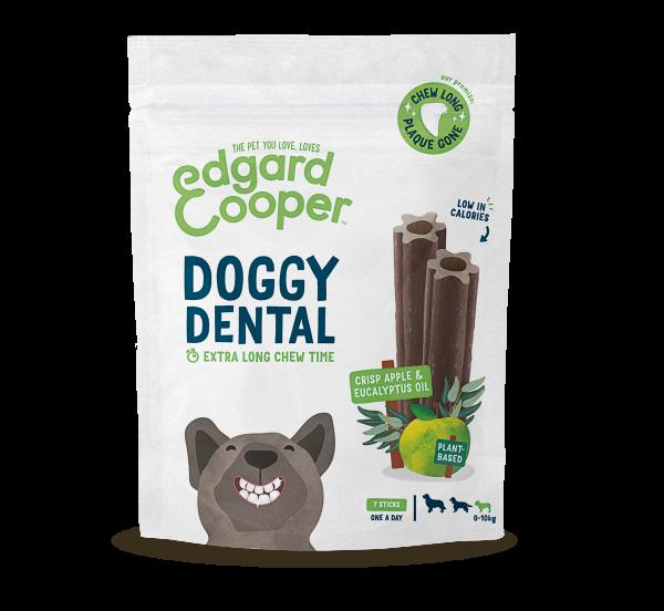 Edgard & Cooper Doggy Dental Sticks Hondensnack - Appel en Eucalyptus