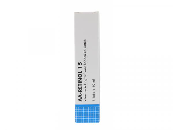 AA Retinol 15 Oogzalf tube