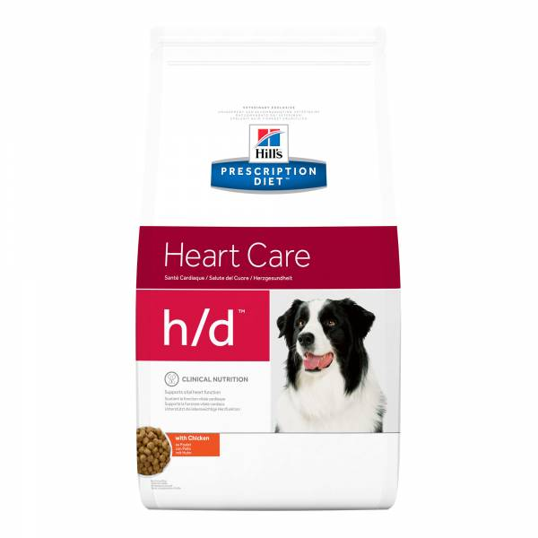 Hill's Prescription Diet HD Heart Care Hondenvoer 5 kg