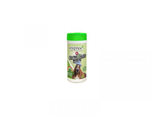 Espree Tea Tree & Aloe wipes 50 stuks