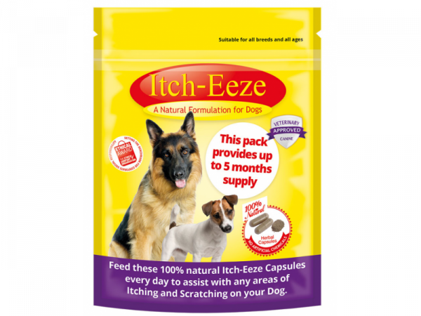 Itch-Eeze (= Allergy-X) capsules Hond 50 gram