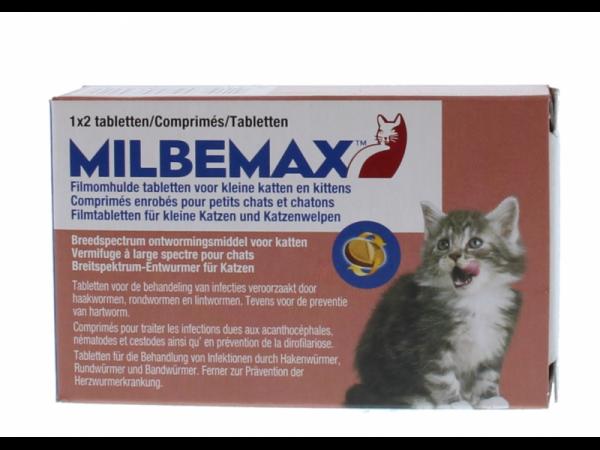 Milbemax Kleine Kat Ontwormingstabletten