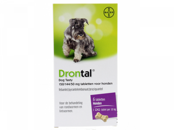 Drontal Dog Tasty Flavour Ontwormen Hond