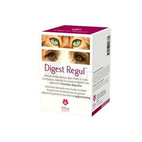 Digest Regul Miloa Spijsvertering Hond Kat 30 tabletten