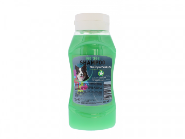 Tea Tree Shampoo Hond Dierapotheker.nl 500 ml