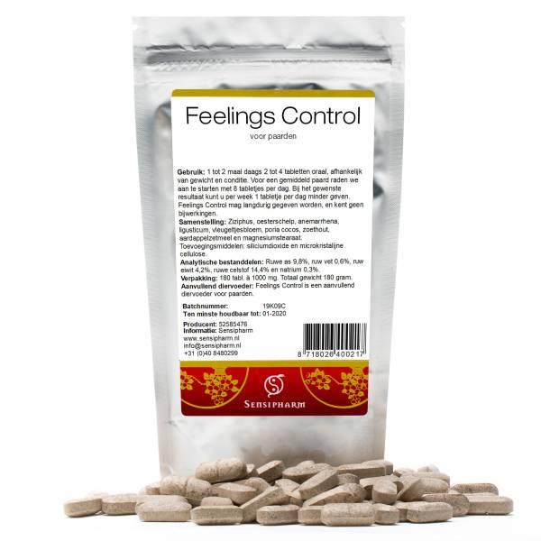 Sensipharm Feelings Control Paard 180 tabletten
