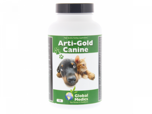 Arti Gold Canine Global Medics 126 tabletten