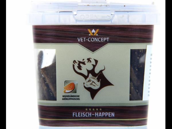 Vet-concept Hertenvleeshapjes Snack Hond Kat 50 gram