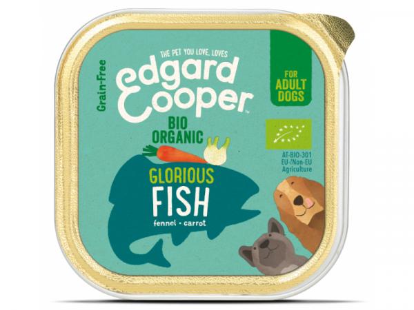 Edgard & Cooper Adult Biologisch Kuipjes Vis 17 x 100 gram