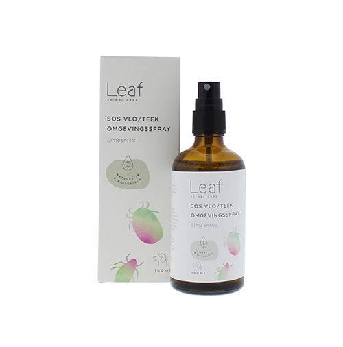 Leaf SOS Vlo/Teek Omgevingsspray Limoenfris Hond