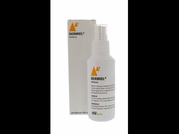 Dermiel huidspray (=wondspray) 100 ml sprayflacon