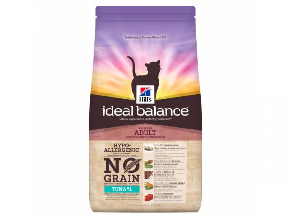 Hill's Ideal Balance Feline Adult No Grain Tuna & Potatoes 1.5 kg