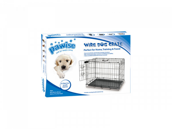 Wire Dog Crate Pawise Bench Hond