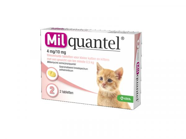 Milquantel Ontwormingstablet Kleine Kat en Kitten