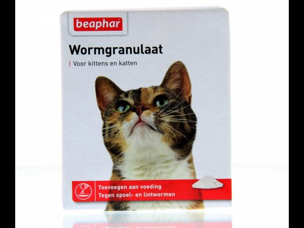 Beaphar Wormgranulaat Kat 4 x 1 gram