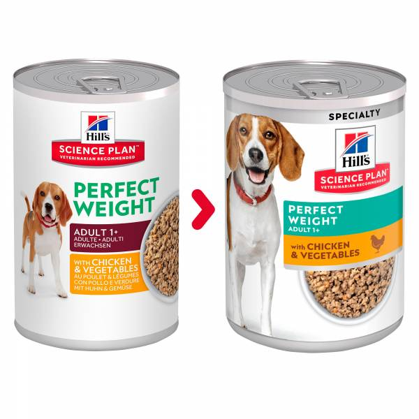 Hill's Science Plan Canine Adult Perfect Weight 12 x 363 gram