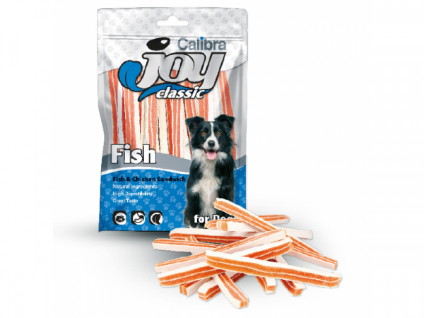 Calibra Joy Dog Fish Chicken Sandwich 80 gram