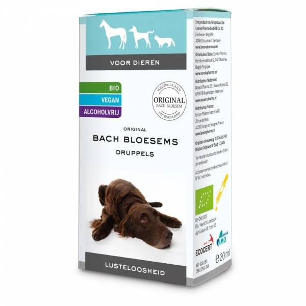 Bach Bloesems Druppels Lusteloosheid Dier 20 ml