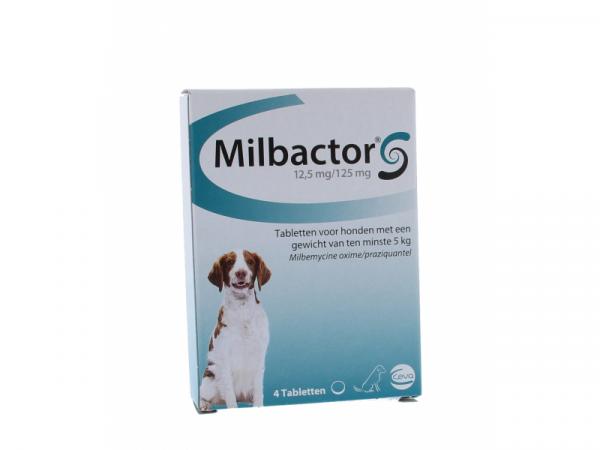 Milbactor Ontwormingstablet Hond