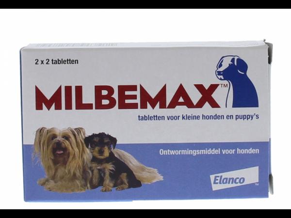 Milbemax Kleine Hond Puppy Ontwormingstabletten