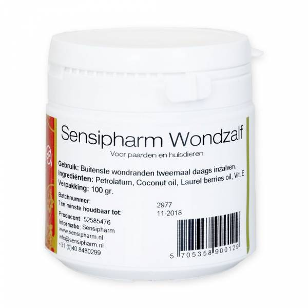 Sensipharm Wondzalf Huisdieren en Paard 100 gram