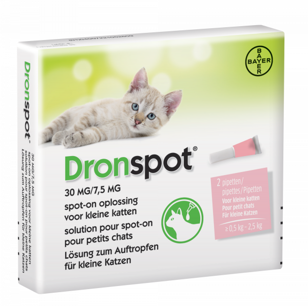 Dronspot Ontwormingspipet kat