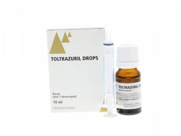 Toltrazuril drops 10 ml