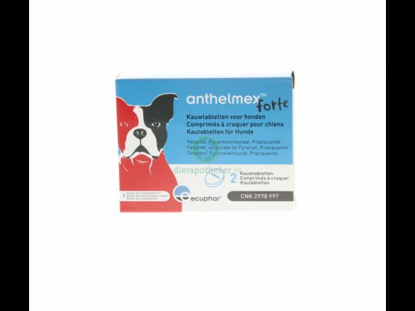 Anthelmex Forte Ecuphar Ontwormingstablet Hond